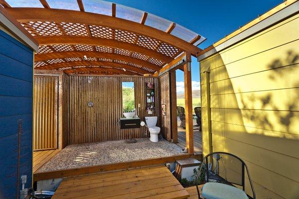 Photo 9 of Modern-Shed Ellensburg Farm Shed Complex modern home