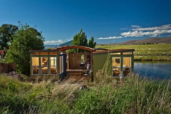 Photo  of Modern-Shed Ellensburg Farm Shed Complex modern home