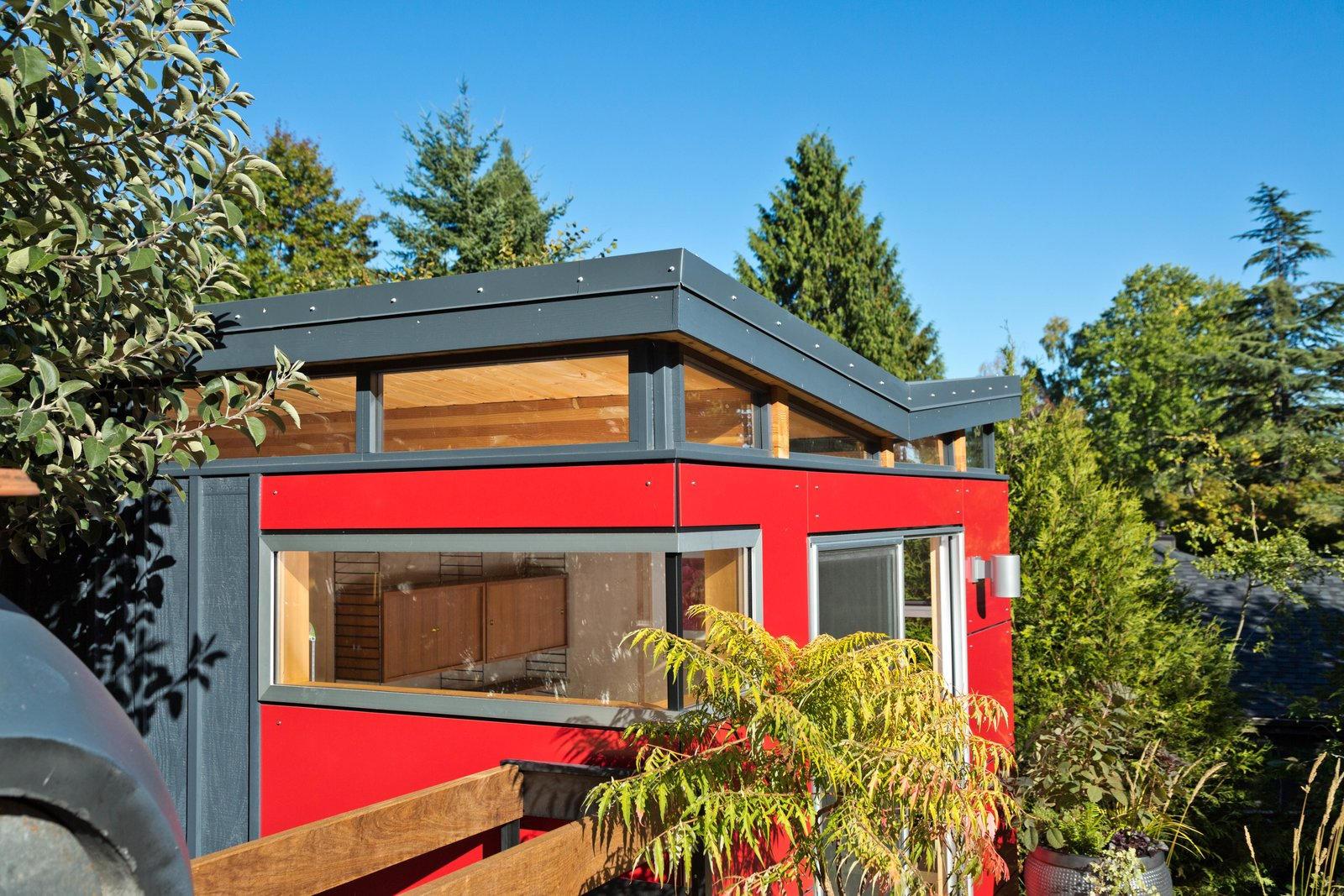 Modern-Shed Butterfly Roof Modern Home By Modern-Shed, Inc