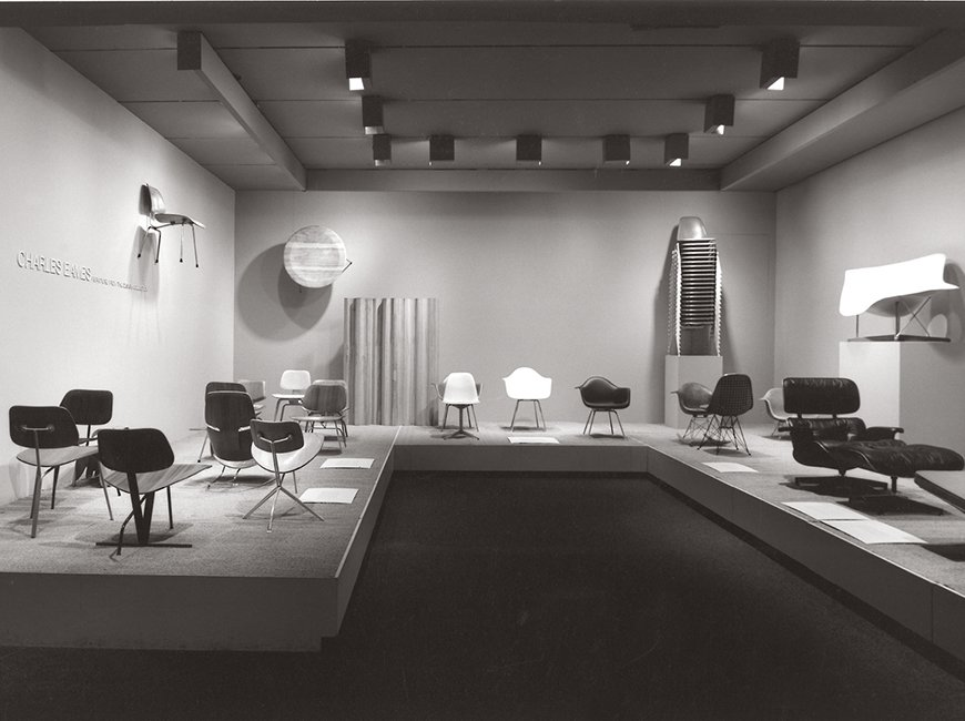 """""""Charles Eames: Furniture from the Design Collection,"""" MoMA, 1973 Live from New York - Photo 12 of 16"""