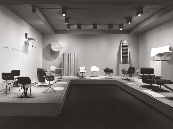 """Charles Eames: Furniture from the Design Collection,"" MoMA, 1973"