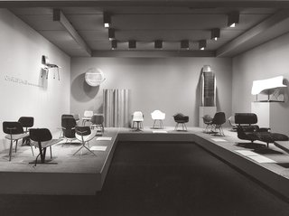 "Live from New York - Photo 11 of 15 - ""Charles Eames: Furniture from the Design Collection,"" MoMA, 1973"