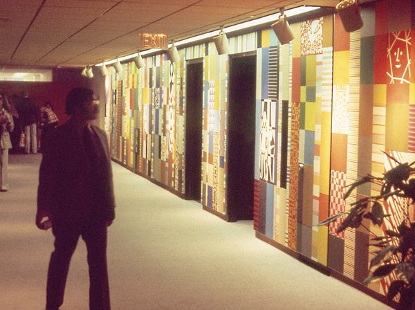 Girard Mural, Herman Miller Showroom, 1973-1974