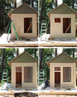 An Amazing Kids' Playhouse Built from an Old Backyard Shed - Photo 4 of 19 -