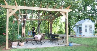 An Amazing Kids' Playhouse Built from an Old Backyard Shed - Photo 17 of 19 -