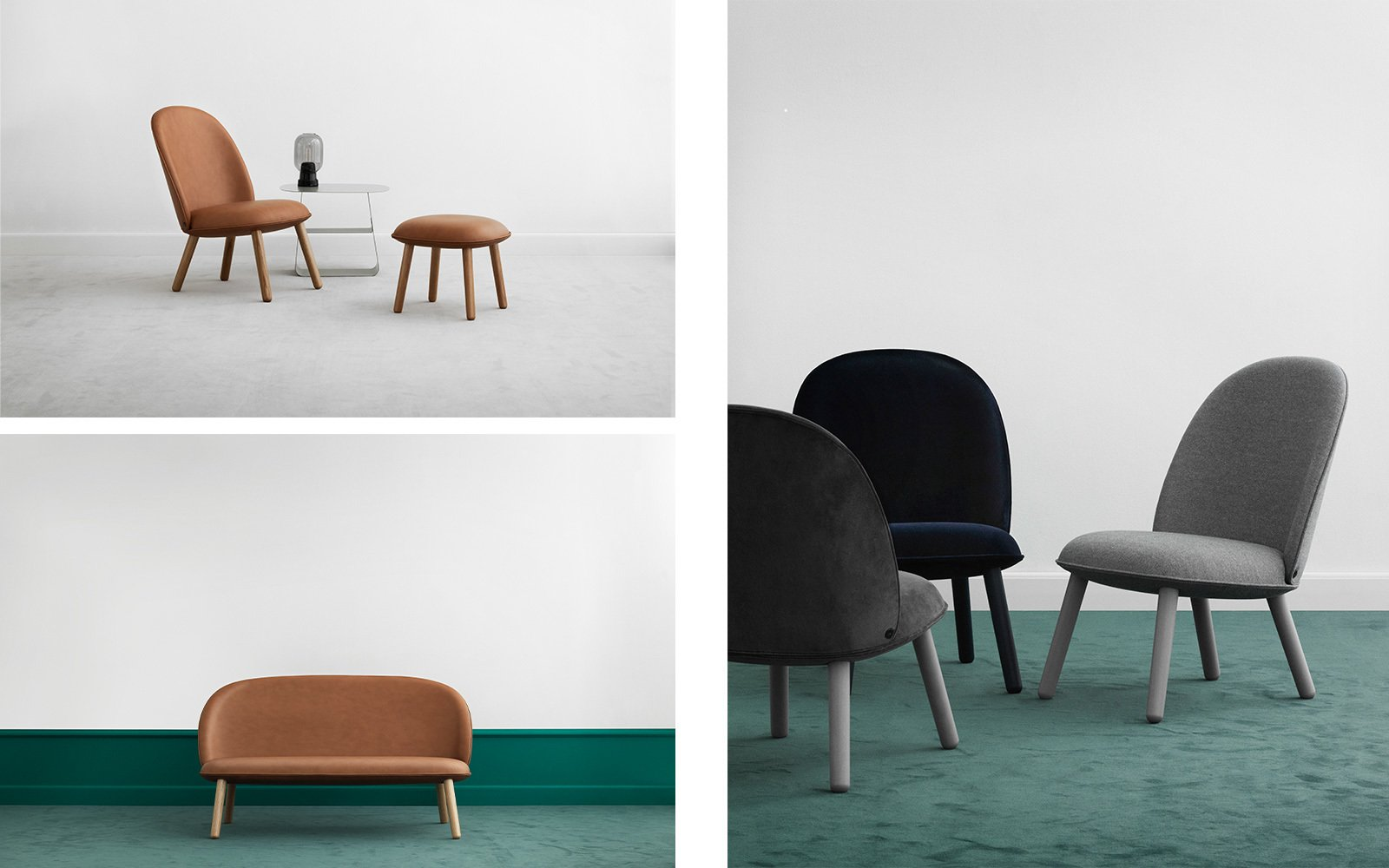 The Ace Lounge Collection in leather, velour, and wool. All Eyes on Ace - Photo 2 of 10