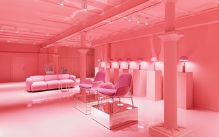 Normann Copenhagen's Revamped Showroom and Flagship Store - Photo 12 of 12 - An explosion of pink in the first edition of the Gallery.