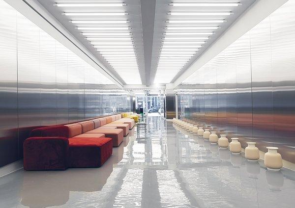 Modern home with hallway. Photo 10 of Normann Copenhagen Showroom