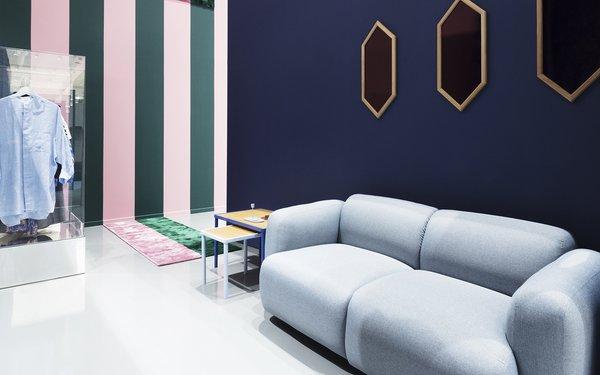 Modern home with living room. Photo 20 of Normann Copenhagen Showroom