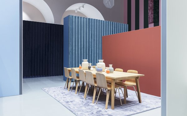 Modern home with dining room. Photo 17 of Normann Copenhagen Showroom
