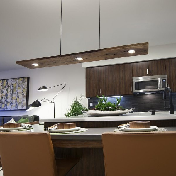 Vix LED Linear Suspension by Cerno