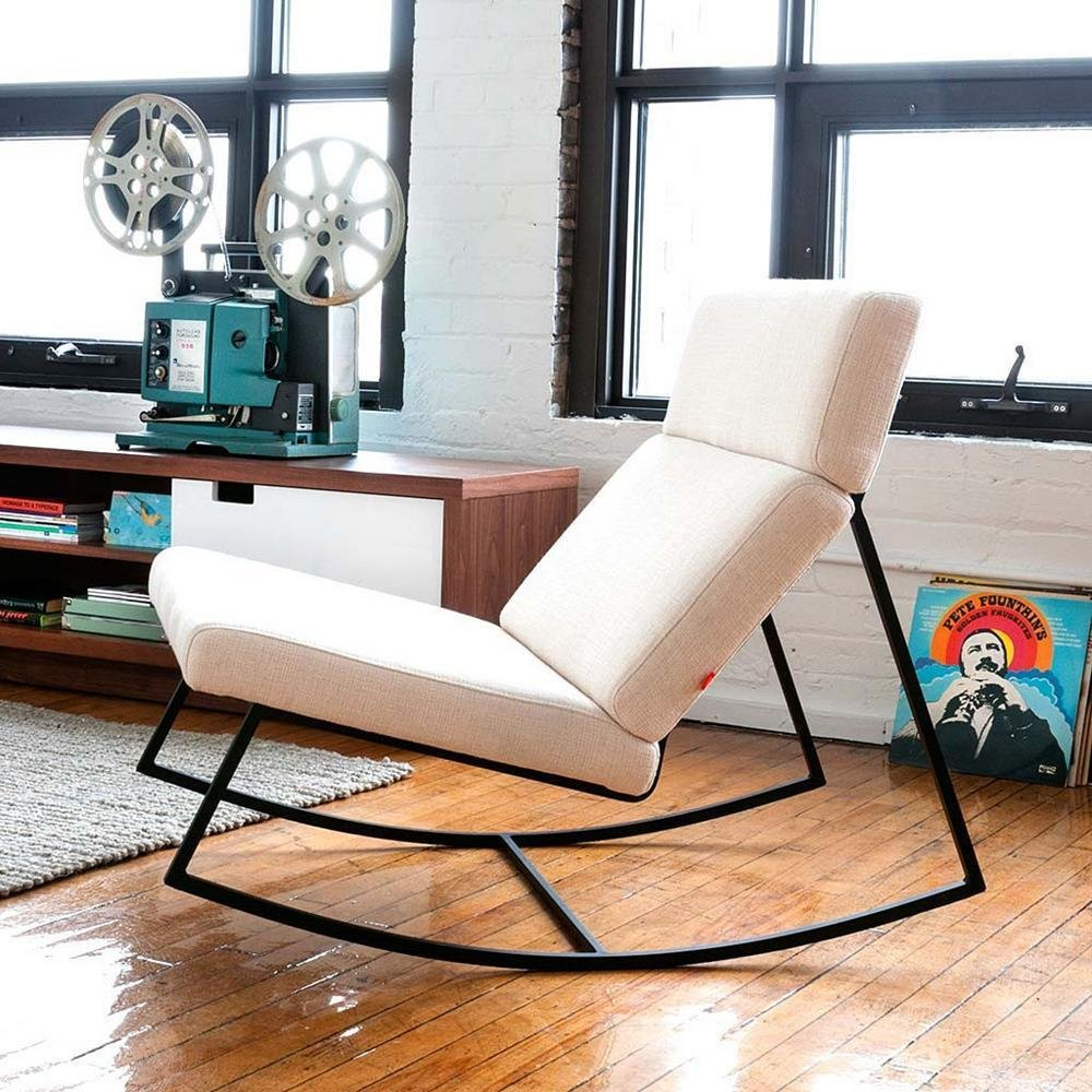 bench for living room modern gt rocker by gus modern by lumens dwell 20875
