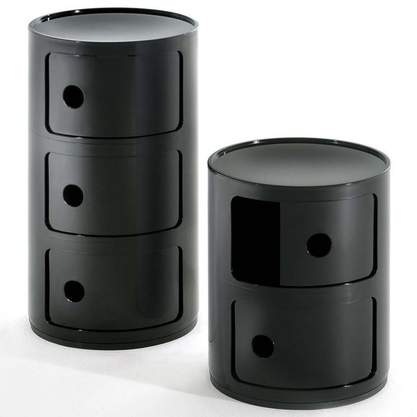 Componibili Round Storage Modules by Kartell