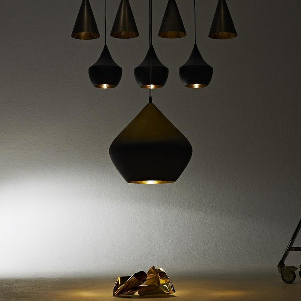 Tom Dixon Beat Light Black Pendant