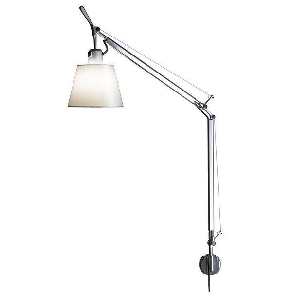 Artemide Tolomeo with Shade Wall Lamp