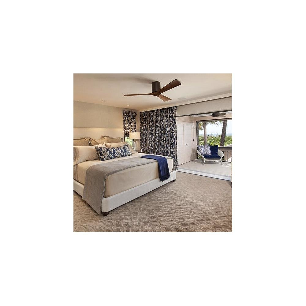 Atlas Fan Company Irene 3-Blade Hugger Ceiling Fan by Lumens - Dwell