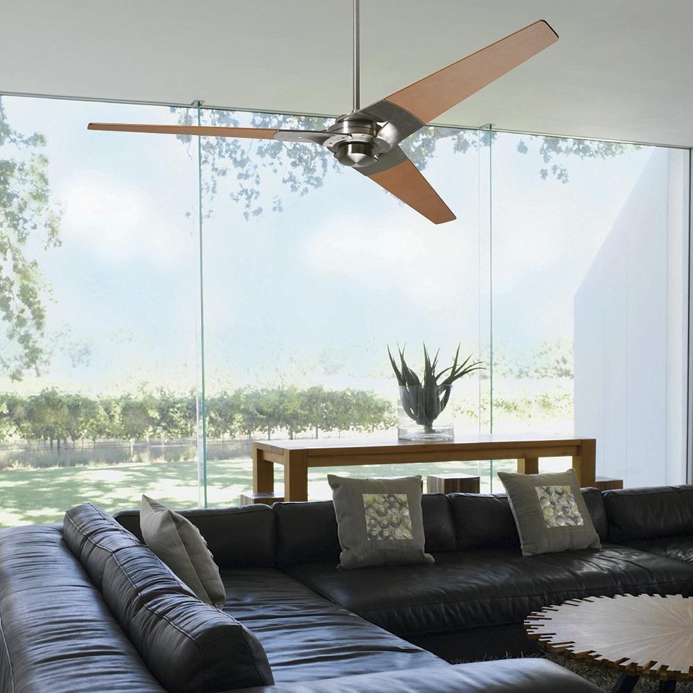 Photo 1 of 1 in Modern Fan Company Torsion Ceiling Fan