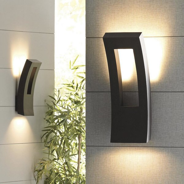 Forq Indoor/Outdoor LED Wall Sconce by Modern Forms by Lumens - Dwell