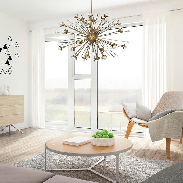 Robert Abbey Sputnik Chandelier