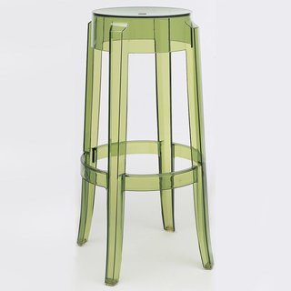Charles Ghost Stool by Kartell