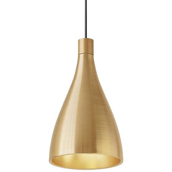 Pablo Designs Swell Narrow Brass Pendant