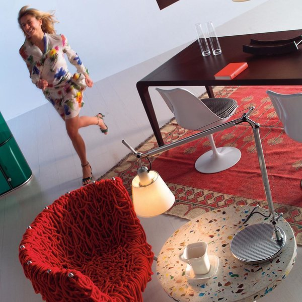 Artemide Tolomeo with Shade Table Lamp
