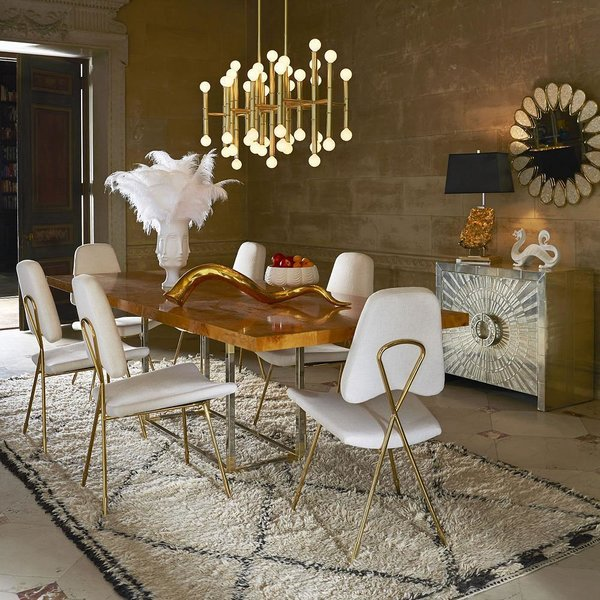 Bond Extension Dining Table by Jonathan Adler