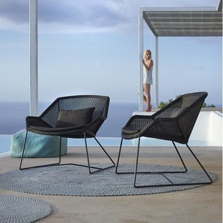Breeze Lounge Chair by Cane-line