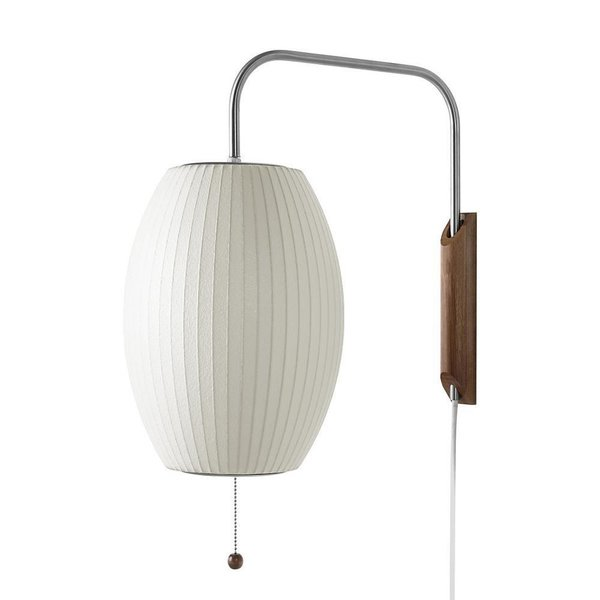 Cigar Bubble Wall Sconce by Herman Miller