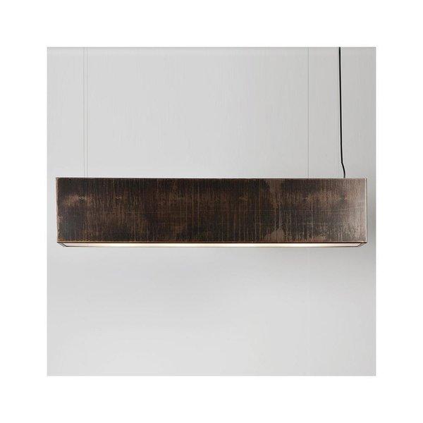 Light Three Linear Pendant by John Beck Steel