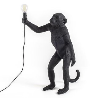 Monkey LED Standing Lamp by Seletti