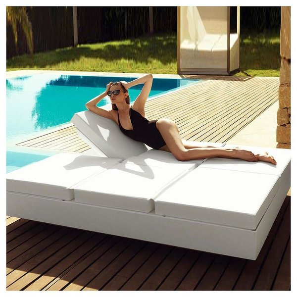 Vela 4 Reclining Daybed by Vondom