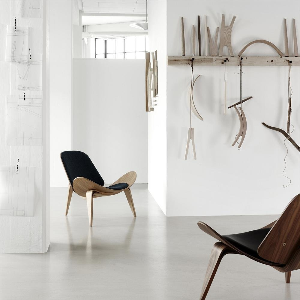 Photo 1 of 1 in CH07 Lounge Chair by Carl Hansen
