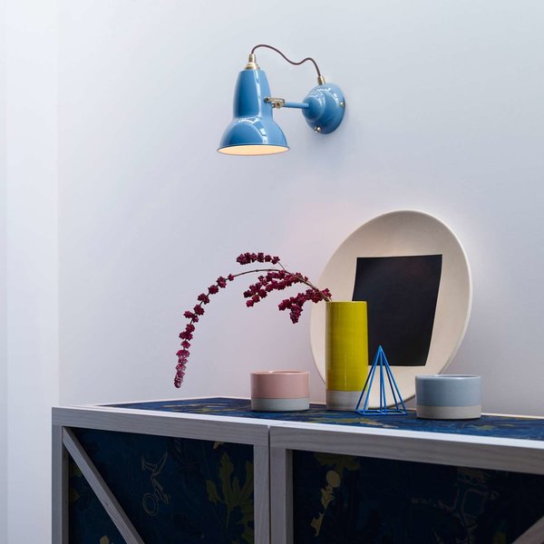 Original 1227 Brass Wall Light from Anglepoise