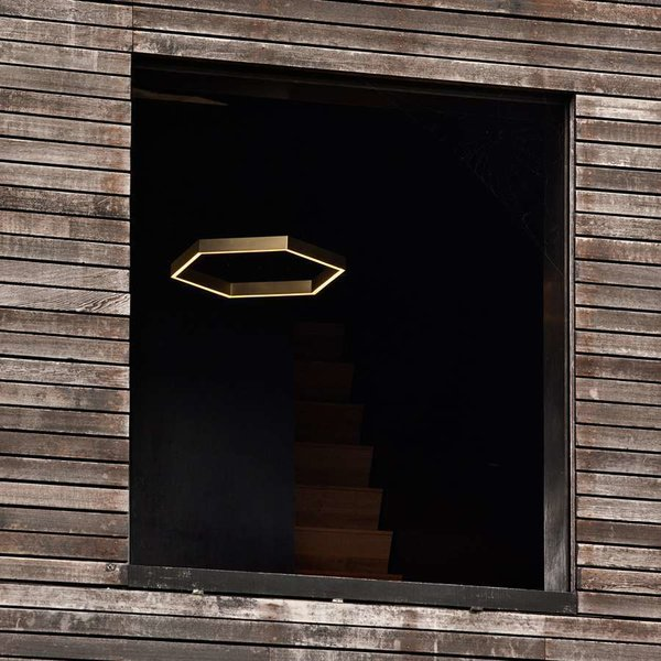 Hex 750 Brass Pendant Light from Resident