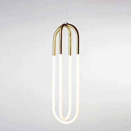 Rudi Double Loop Pendant by Roll and Hill