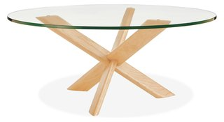 Getting Technical: 5 Types of Wood Joints You Should Know - Photo 4 of 5 - The Union coffee table utilizes an interlocking three-part lap joint in the base of the table.