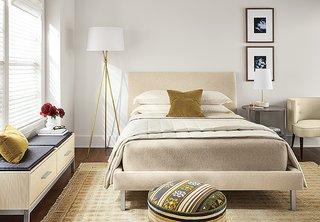Expert Design Advice: Layer Your Lighting - Photo 2 of 7 - Tri-plex floor lamp, Capstone table lamp