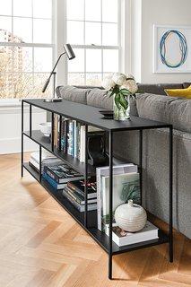 Expert Design Advice: Layer Your Lighting - Photo 3 of 7 - Coda table lamp, Foshay bookcase