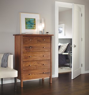 Expert Design Advice: Layer Your Lighting - Photo 6 of 7 - Elise table lamps, Sherwood dresser