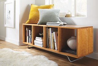 Storage Benches for Every Space - Photo 3 of 6 - Ferris cubby bench in cherry