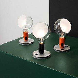 Creative Minds: Achille Castiglioni - Photo 1 of 2 - Lampadina Lamp designed by Achille Castiglioni in 1972