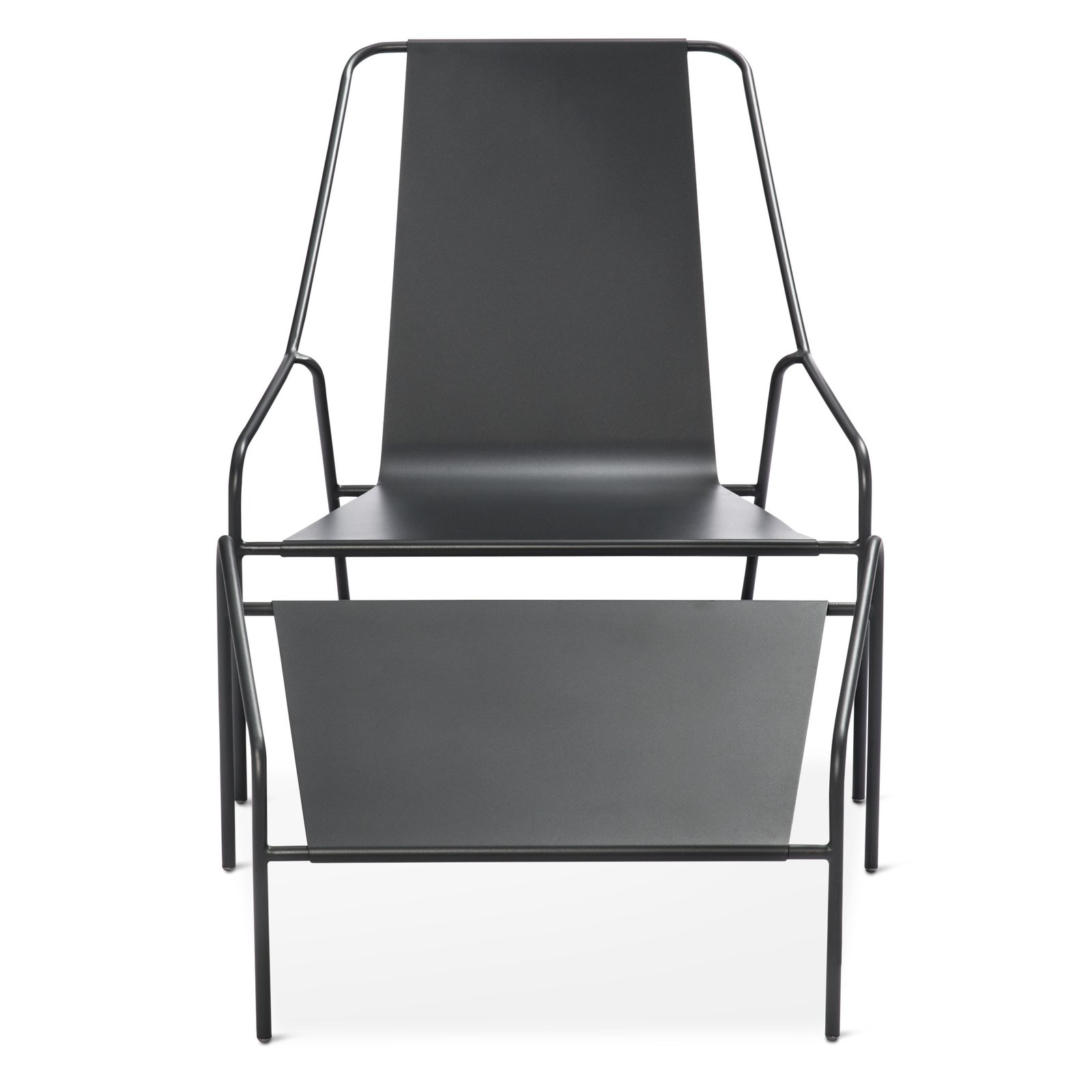 Posture Chair and Ottoman Set, $269.99; available in gray, orange, or white; designed by Chris Deam and Nick Dine for Modern by Dwell Magazine for Target   Photo 14 of 17 in Modern by Dwell Magazine: Outdoor Collection