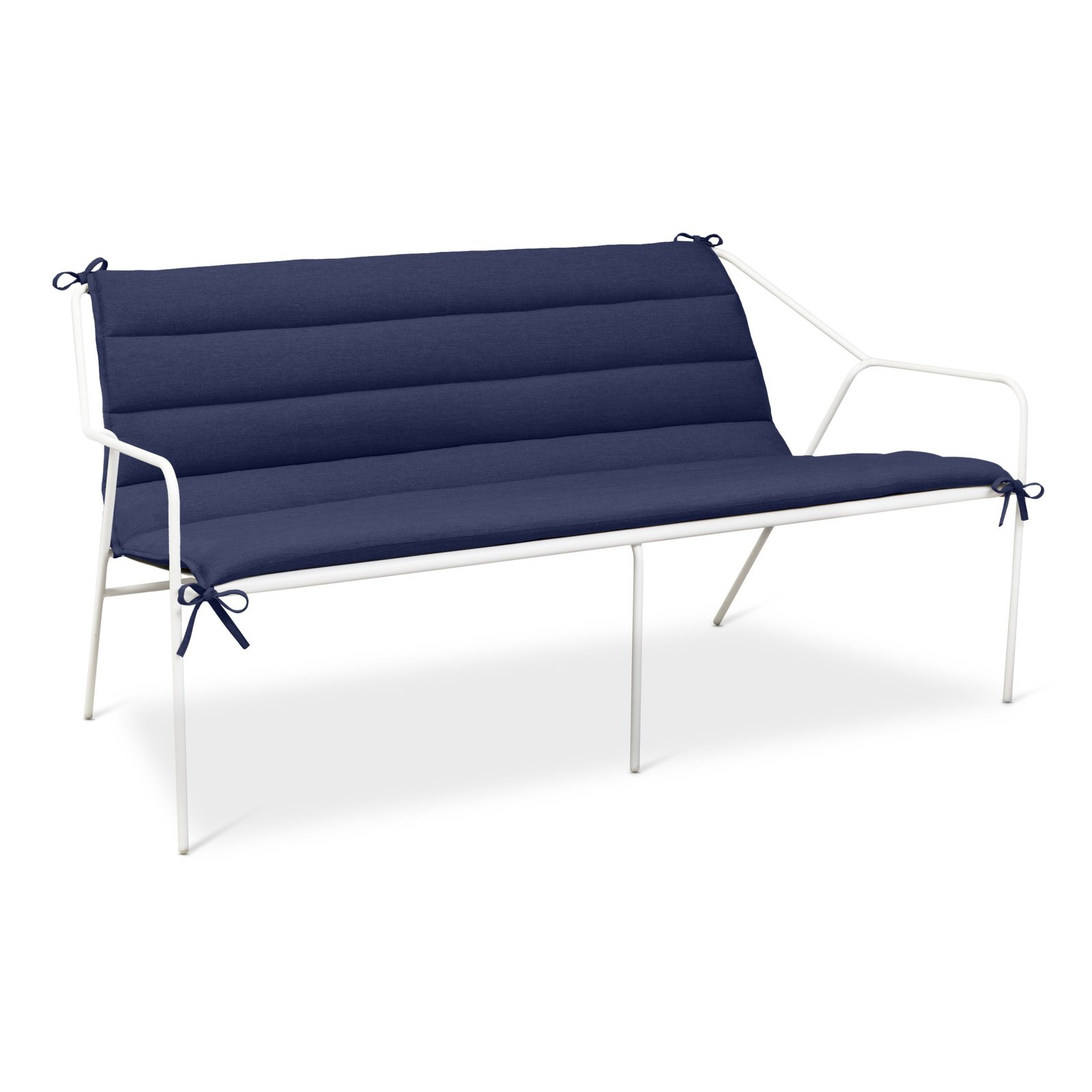 Outdoor Sofa, $399.99, available in gray or white; Cushion, $109.99, available in gray or navy; designed by Chris Deam and Nick Dine for Modern by Dwell Magazine for Target   Photo 4 of 17 in Modern by Dwell Magazine: Outdoor Collection