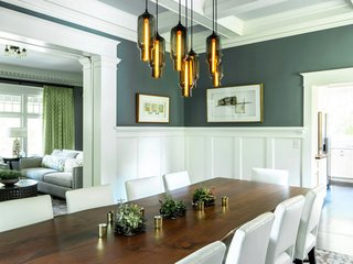 Dining Room Pendant Lighting Sets The Mood In An Eclectic Oregon Home    Photo 2 Of