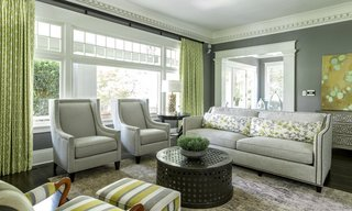 Dining Room Pendant Lighting Sets the Mood in an Eclectic Oregon Home - Photo 3 of 4 -