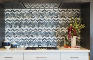 Bold Kitchen Island Pendant Lighting Shines Bright in Boston Home - Photo 2 of 3 -