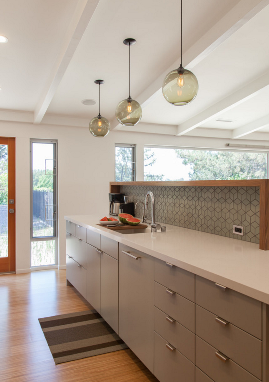 Photo 2 of 5 in Pinterest Inspired Home Includes Niche Modern Kitchen Pendant Lights