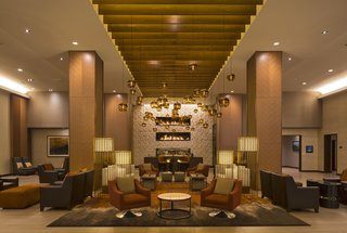Downtown Denver Hyatt Warms up with Modern Hotel Lighting - Photo 1 of 3 -