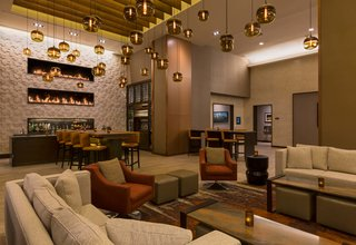 Downtown Denver Hyatt Warms up with Modern Hotel Lighting - Photo 3 of 3 -